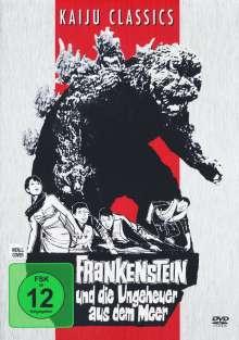 Frankenstein und die Ungeheuer aus dem Meer, DVD