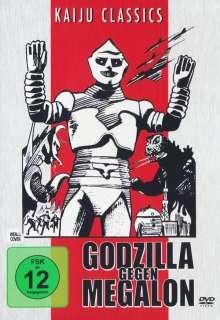 Godzilla gegen Megalon, DVD