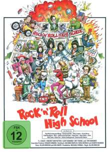 Rock 'n' Roll High School (Blu-ray im Mediabook), Blu-ray Disc