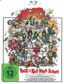 Rock 'n' Roll High School (Blu-ray), Blu-ray Disc