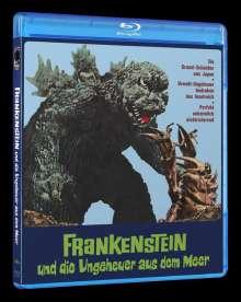 Frankenstein und die Ungeheuer aus dem Meer (Blu-ray), Blu-ray Disc