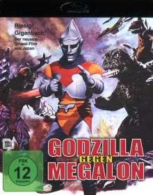 Godzilla gegen Megalon (Blu-ray), Blu-ray Disc