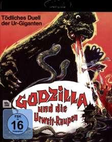 Godzilla und die Urwelt-Raupen (Blu-ray), Blu-ray Disc