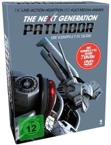 The Next Generation: Patlabor (Komplette Serie im Digipack), 7 DVDs