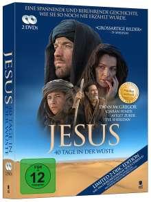 Jesus - 40 Tage in der Wüste, 2 DVDs