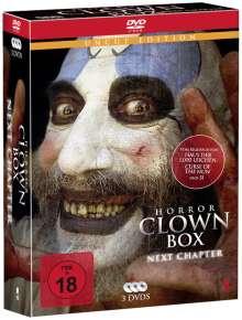 Horror Clown Box 2, 3 DVDs