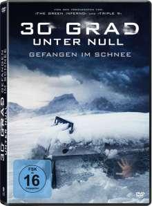 30 Grad unter Null - Gefangen im Schnee, DVD