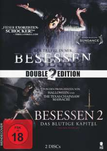 Besessen 1 & 2, 2 DVDs