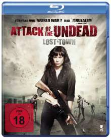 Attack of the Undead (Blu-ray), Blu-ray Disc