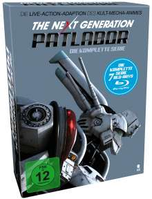 The Next Generation: Patlabor (Komplette Serie im Digipack) (Blu-ray), 7 Blu-ray Discs