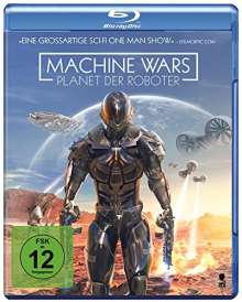 Machine Wars - Planet der Roboter (Blu-ray), Blu-ray Disc