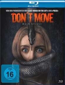 Don't Move - Halt still! (Blu-ray), Blu-ray Disc
