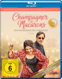 Champagner & Macarons - Ein unvergessliches Gartenfest (Blu-ray), Blu-ray Disc