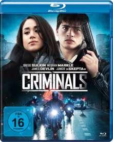 Criminals (Blu-ray), Blu-ray Disc