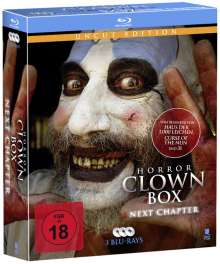 Horror Clown Box 2 (Blu-ray), 3 Blu-ray Discs