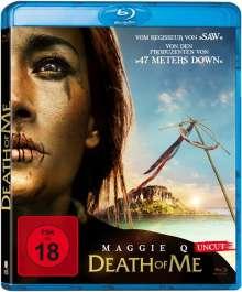 Death of Me (Blu-ray), Blu-ray Disc