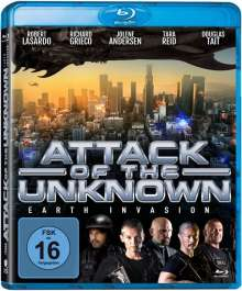 Attack of the Unknown - Earth Invasion (Blu-ray), Blu-ray Disc