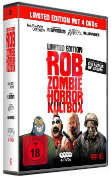 Rob Zombie - Horror Kultbox, 4 DVDs