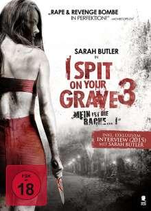 I Spit on your Grave 3, DVD