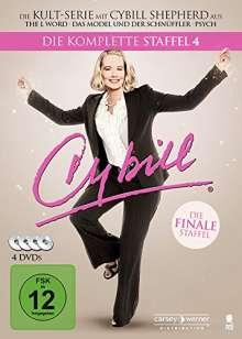 Cybill Season 4, 4 DVDs
