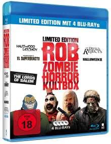 Rob Zombie - Horror Kultbox (Blu-ray), 4 Blu-ray Discs