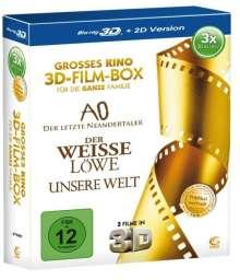 Grosses Kino - 3D-Film-Box (3D Blu-ray), 3 Blu-ray Discs