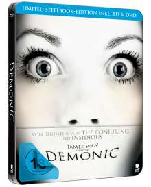 Demonic (Blu-ray & DVD im Steelbook), 1 Blu-ray Disc und 1 DVD