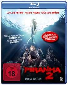 Piranha 2 (Blu-ray), Blu-ray Disc