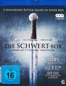 Die Schwert-Box (Blu-ray), 3 Blu-ray Discs