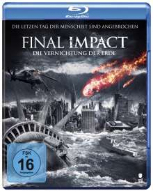 Final Impact - Die Vernichtung der Erde (Blu-ray), Blu-ray Disc