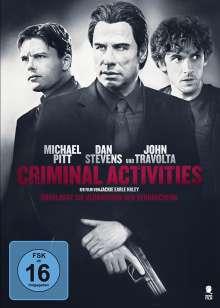 Criminal Activities, DVD