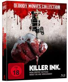 Killer Ink (Bloody Movies Collection) (Blu-ray), Blu-ray Disc