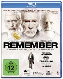 Remember (Blu-ray), Blu-ray Disc