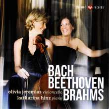 Olivia Jeremias & Katharina Hinz - Bach / Beethoven / Brahms, CD