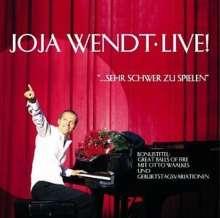 Joja Wendt (geb. 1964): Live!...sehr schwer zu spielen, CD