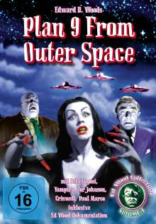 Ed Wood: Plan 9 From Outer Space (OmU), DVD