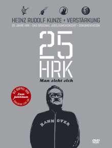 Heinz Rudolf Kunze: Man sieht sich - 25 Jahre Heinz Rudolf Kunze, 3 DVDs