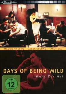 Days Of Being Wild, DVD