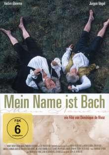 Mein Name ist Bach, DVD