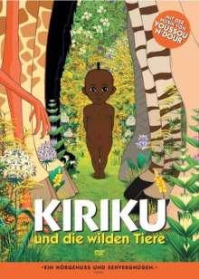 Kiriku und die wilden Tiere, DVD