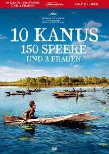 10 Kanus, 150 Speere und 3 Frauen, DVD
