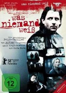 Was niemand weiß, DVD