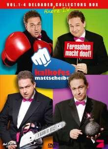 Kalkofes Mattscheibe Vol.1-4, 4 DVDs