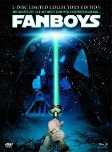 Fanboys (Blu-ray & DVD im Mediabook), 1 Blu-ray Disc und 1 DVD