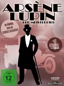 Arsene Lupin Staffel 1, 4 DVDs