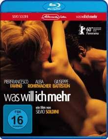 Was will ich mehr (Blu-ray), Blu-ray Disc