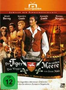 Der Tiger der sieben Meere (Das Wappen von Saint Malo), 2 DVDs