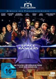 Space Rangers: Fort Hope, 3 DVDs