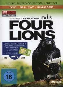 Four Lions (Blu-ray im Mediabook), 2 Blu-ray Discs