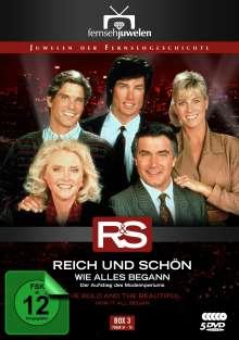 Reich und Schön Box 3: Wie alles begann, 5 DVDs